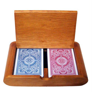 Wooden Box Set Arrow Red-Blue Narrow Regular