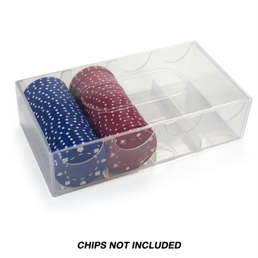 Poker Chip Storage Box - Holds 100 chips
