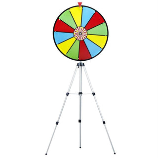 "24"" Color Dry Erase Prize Wheel w- Floor Stand"
