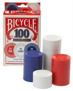 Bicycle 2g Poker Chips, 100-pack