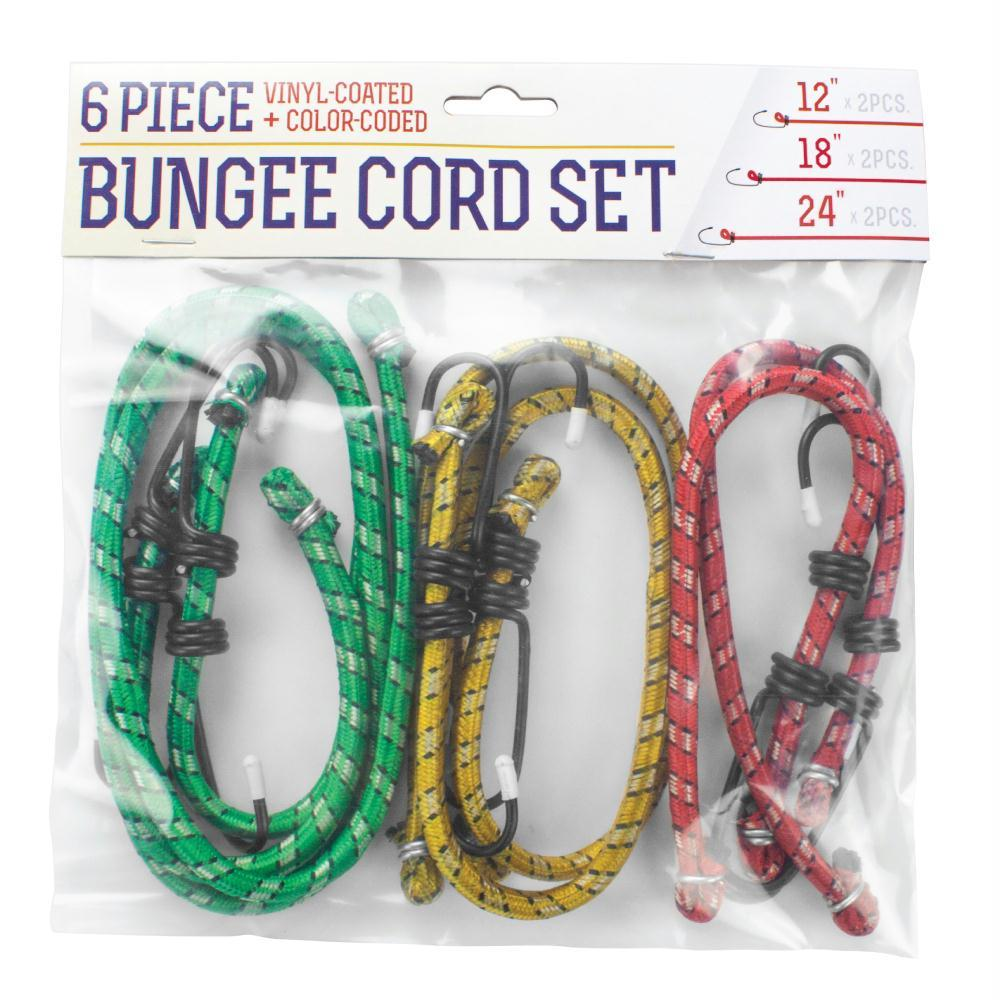 6 Piece Bungee Set