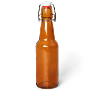 11 Oz Amber Glass Bottles