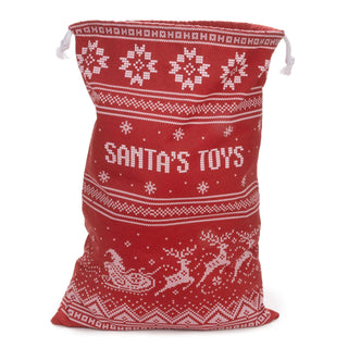 Santa's Toy Bag - Reusable Christmas Gift Bag