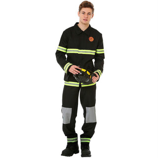 Five-Alarm Firefighter Halloween Costume, Medium