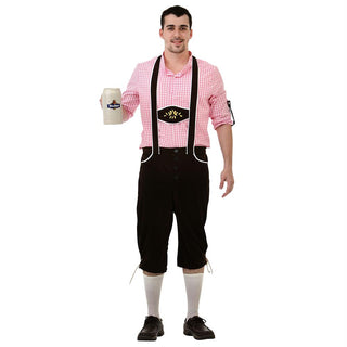 Bavarian Bundhosen Halloween Costume, X-Large