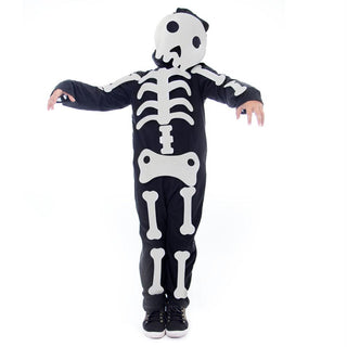 Make Your Own Skeleton Halloween Costume, Large