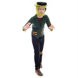 Flat-top Frankenstein Halloween Costume, Large