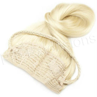#613 Platinum Blonde - 20 inch Braided Tiara