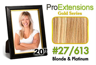 #27-613 Blonde w-Platinum Highlights Pro Cute