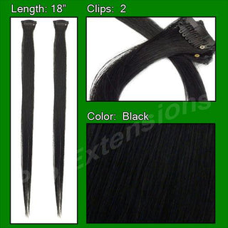 (2 PCS) Black Highlight Streak Pack