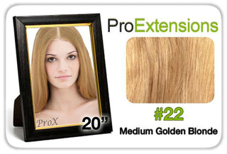 "Pro Lace 20"", #22 Medium Golden Blonde"