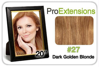 "Pro Lace 20"", #27 Dark Golden Blonde"