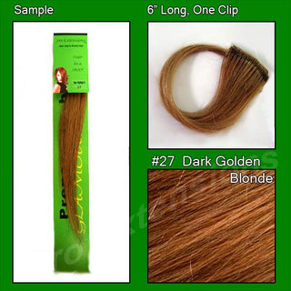 #27 Dark Golden Blonde Sample