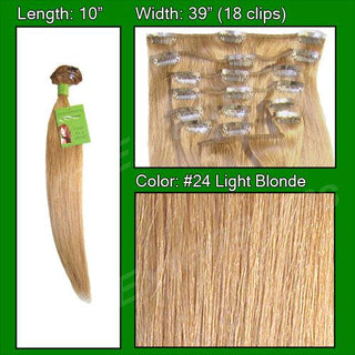 #24 Light Blonde - 10 inch