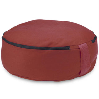 "Red 15"" Round Zafu Meditation Cushion"