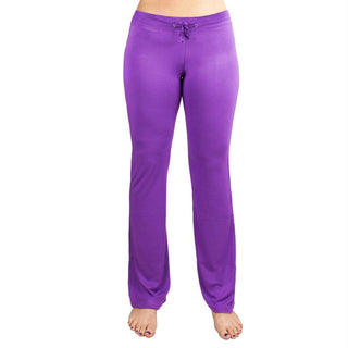 Medium Purple Relaxed Fit Yoga Pants