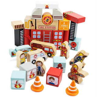 Elm Street Fire Station Playset