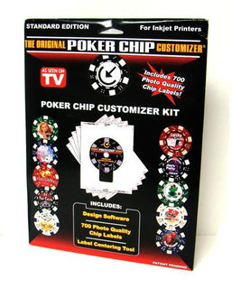 The Original Poker Chip Customizer