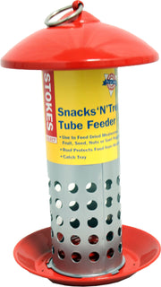 Classic Brands Llc - Wb - Stokes Snacks'n'treats Mealworm Tube Feeder