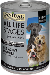 Canidae - All Life Stages - Canidae All Life Stages Less Active Can Dog Food (Case of 12 )