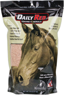 Redmond Minerals Inc. - Redmond Rock Crushed Salt For Horses