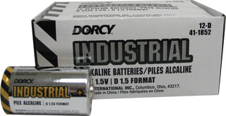 Dorcy International     P - Industrial Alkaline Batteries (Case of 24 )