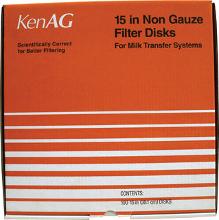 Ken Ag Inc - Non Gauze Disk Milk Filter