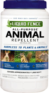 Liquid Fence - All Purpose Animal Repellant Granular