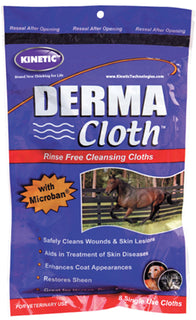 Kinetic Technologies Llc - Derma Cloth Rinse Free Cleaning Cloth For Wounds