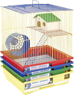 Prevue Pet Products Inc - 2 Story Gerbil & Hamster Cage (Case of 4 )