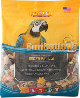 Sunseed Company - Sunsations Foraging Food For Macaw