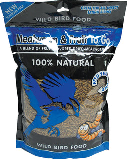 Unipet Llc - Mealworm And Fruit To Go Wild Bird Food