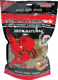Unipet Llc - Mealworm And Cranberry To Go Wild Bird Food