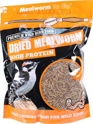 Unipet Llc - Mealworm To Go Dried Mealworm Wild Bird Food