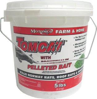 Motomco Ltd             D - Tomcat Bromethalin Pelleted Bait