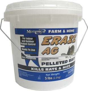 Motomco Ltd             D - Eraze Ag Rodent Pelleted Bait