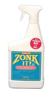 Manna Pro-packaged - Zonk It 35 Insect Spray For Horses And Dogs