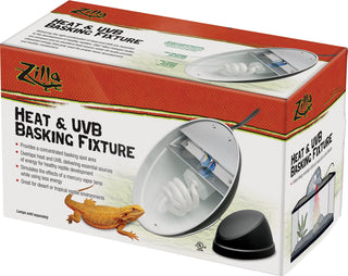 Zilla - Heat And Uvb Basking Fixture