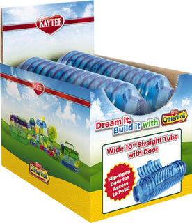 Super Pet- Container - Kaytee Crittertrail Wide Tube (Case of 4 )