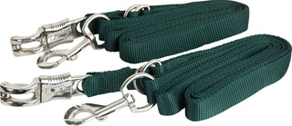 Gatsby Leather Company - Adjustable Nylon Crossties With Panic Strap