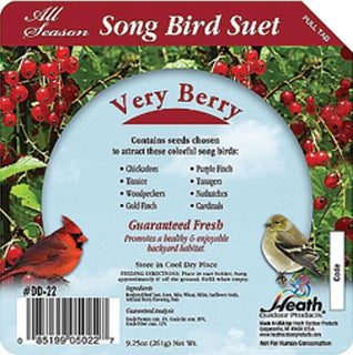 Heath Mfg Co            P - Songbird Suet Cake (Case of 16 )
