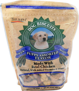 Triumph Pet Industries - All Natural Puppy Biscuits