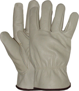 Boss Manufacturing      P - Quality Grade Grain Cowhide Leather Driver Glove (Case of 12 )