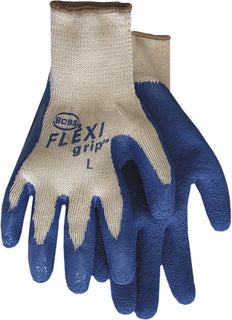 Boss Manufacturing      P - Flexigrip Latex Palm String Knit Glove (Case of 12 )