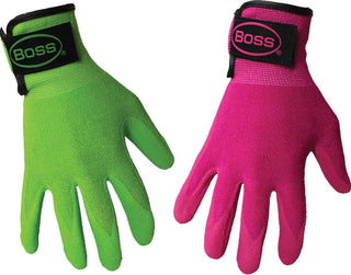 Boss Manufacturing      P - Boss Guardian Angel Sandy Nitrile Palm Glove (Case of 6 )