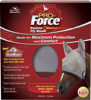 Manna Pro - Fly - Pro-force Equine Fly Mask With Ears