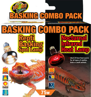 Zoo Med Laboratories Inc - Day And Night Reptile Basking Combo Pack