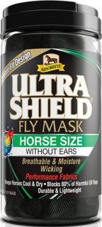 W F Younginc-insecticide-Ultrashield Fly Mask Warmblood Without Ears