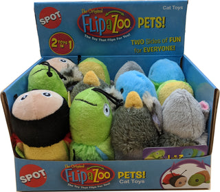 Ethical Cat - Flip A Zoo Cat Toy Assortment Display