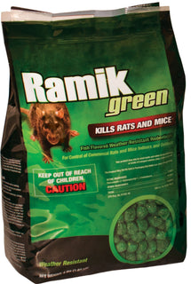 Neogen Rodenticide      D - Ramik Green Rats And Mice Bait
